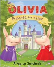 Olivia Princess for a Day : A Pop-up Story Book