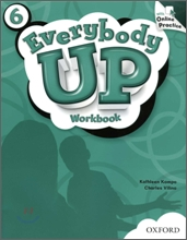 Everybody Up 6 : Workbook with Online Practice Pack