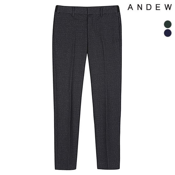 [ANDEW]남성 테이퍼드 분또 패턴물 사이드밴딩 바지(O173PT220P)