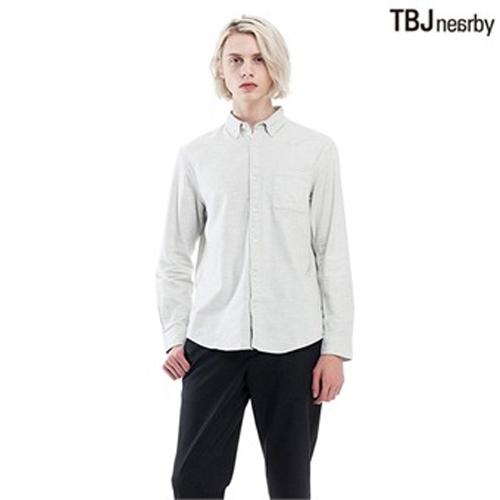 [TBJ]남성 제기장 기본핏 울라이크 솔리드 셔츠(T174SH400P)