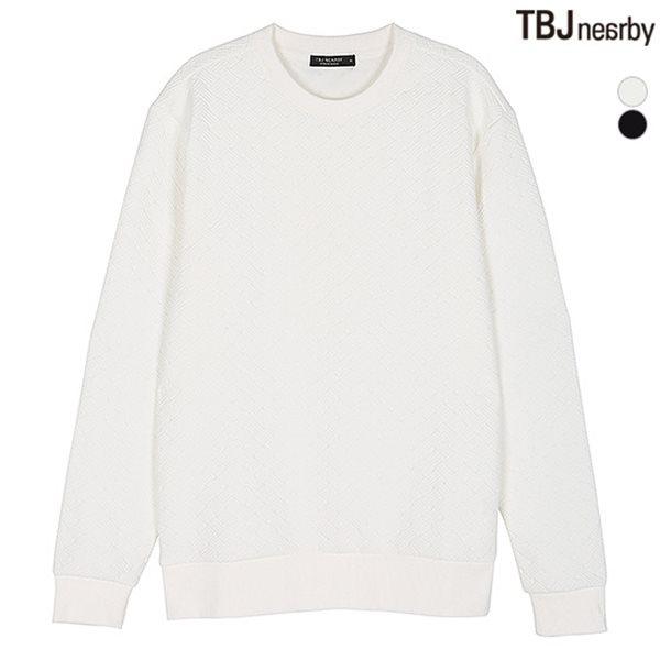 [TBJ]남성 조직변형 엠보 맨투맨(T174TS140P)