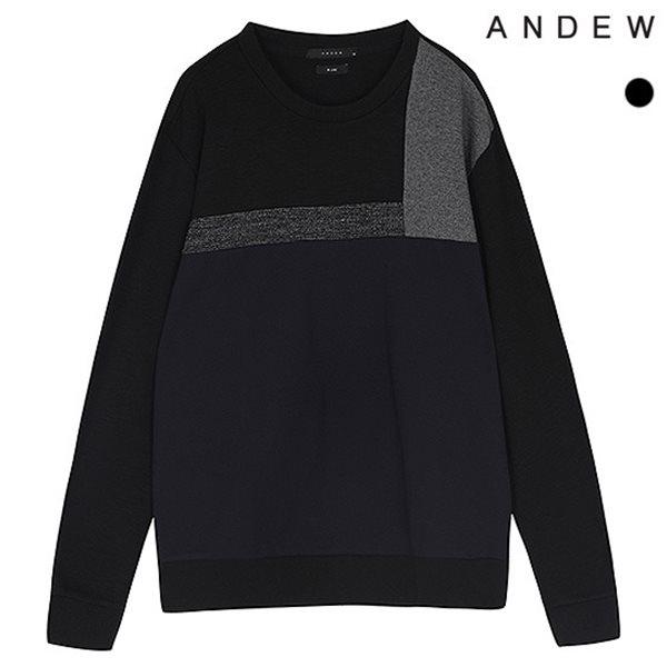 [ANDEW]남성 배색절개 분또 맨투맨TS(O174TS130P)