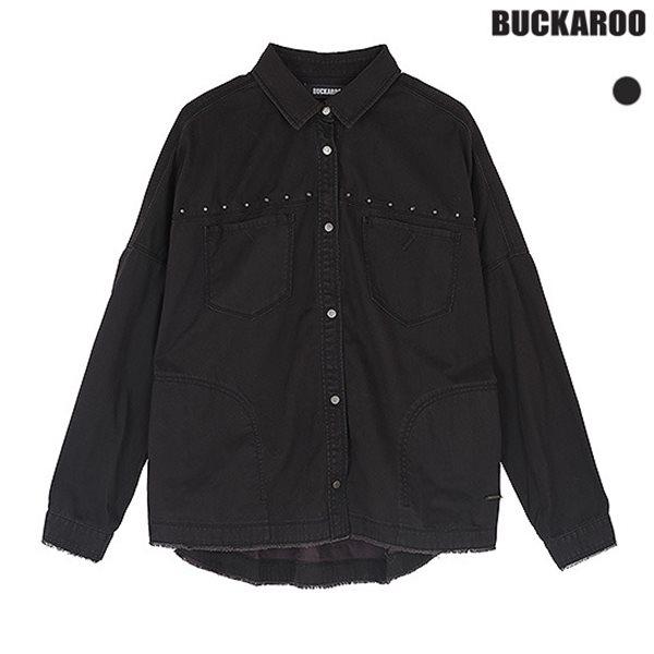 [BUCKAROO]여성 코튼 피그먼트 금속장식 빈티지 셔츠(B173SH520P)
