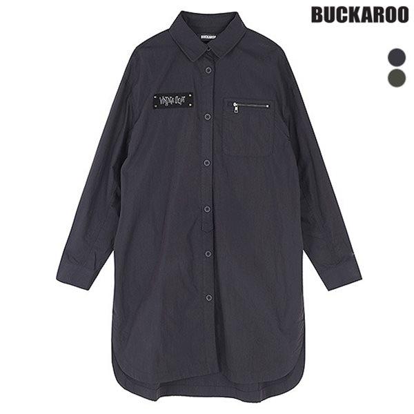 [BUCKAROO]여성 CN 롱기장 셔츠(B173SH700P)