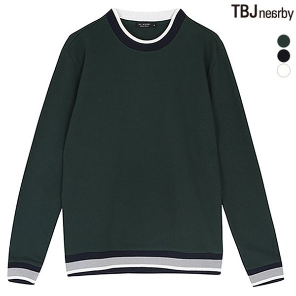 [TBJ]유니 3단쮸리 시보리 변형 맨투맨(T173TS120P)
