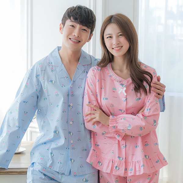 핑코코 286 슈몽 9부 상하세트/파자마/홈웨어/잠옷