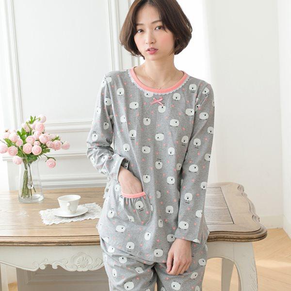 핑코코 272 베베양 9부상하/홈웨어/파자마/잠옷
