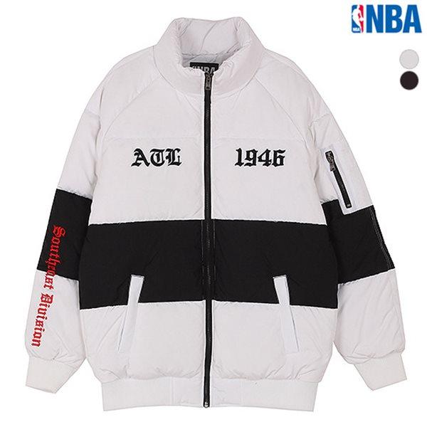 [NBA]ATL HAWKS 절개배색 다운점퍼(N174DW411P)