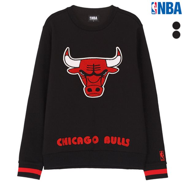 [NBA]CHI BULLS 레귤러핏 로고 맨투맨(N174TS132P)
