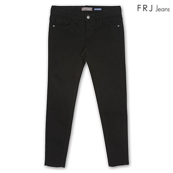 [FRJ] 여성 블랙주자기모앵클스키니 BK (F74F-DP383A)