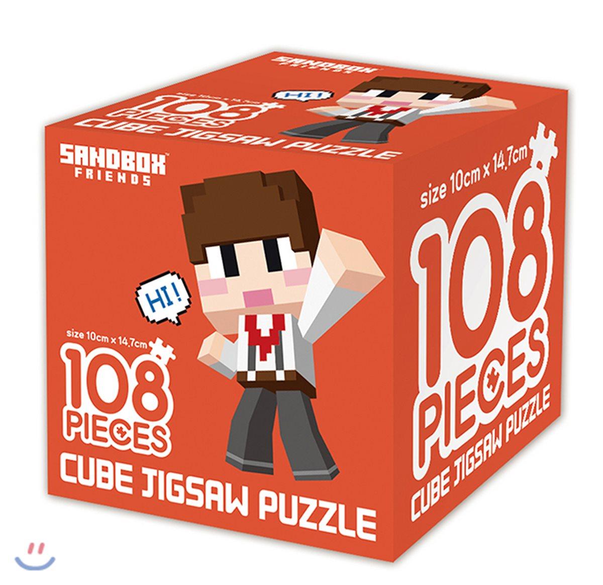 샌드박스 프렌즈 큐브 직소퍼즐 108 안녕, 도티