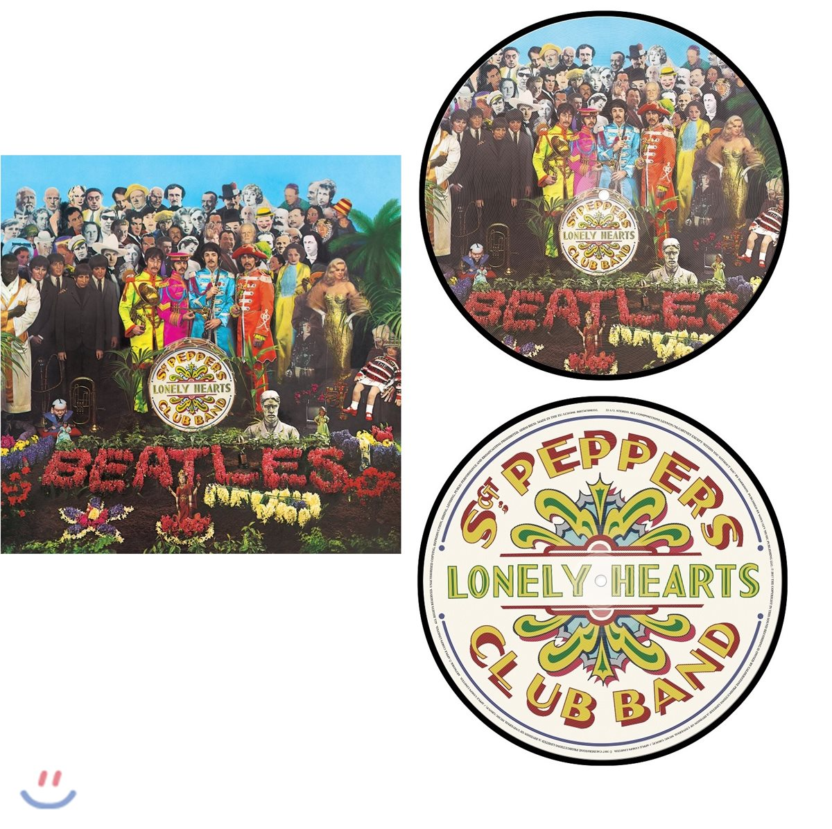 The Beatles (비틀즈) - Sgt. Pepper's Lonely Hearts Club Band [픽쳐 디스크 LP]