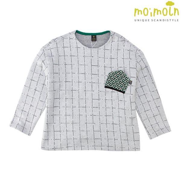 [모이몰른] 와이드 크롭티셔츠 [봄]