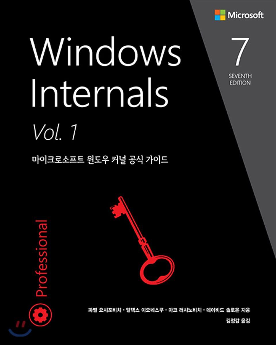 Windows Internals 7/e Vol.1