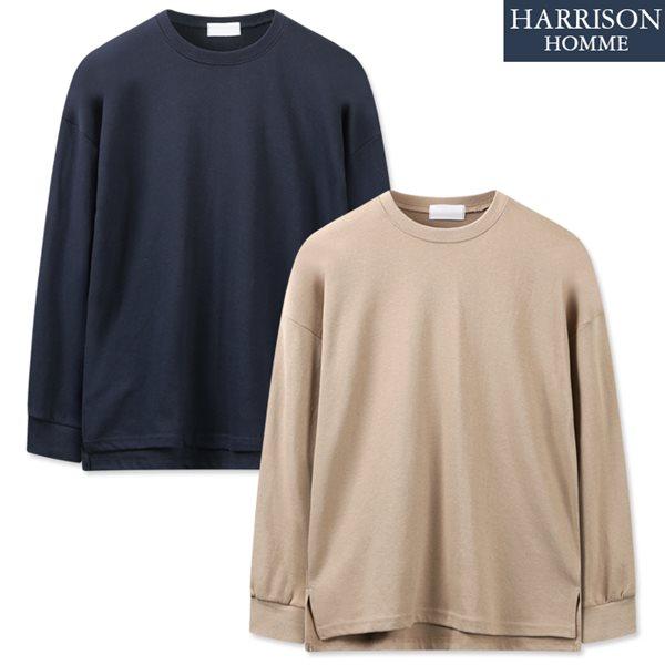 [해리슨] 카우스 라운드 긴팔 티셔츠 SPG1217