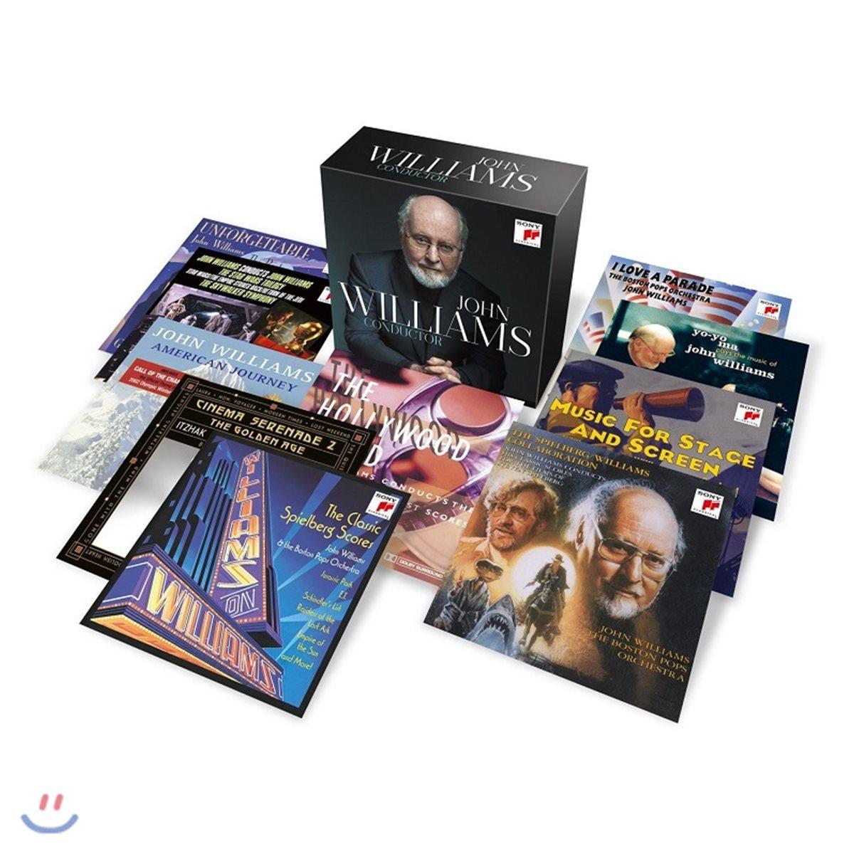 존 윌리암스 작품 모음집 (John Williams Conductor) [20CD]