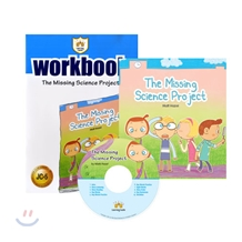 ����ij�� �ִϾ� C5 : The Missing Science Project : Student book + Work Book + CD