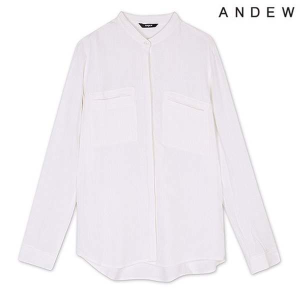 [ANDEW]여성 선염 스트라이프 셔츠 WT(O153SH530M)