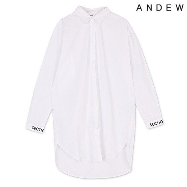 [ANDEW]여성 긴팔 원피스형 셔츠(O151SH530P)