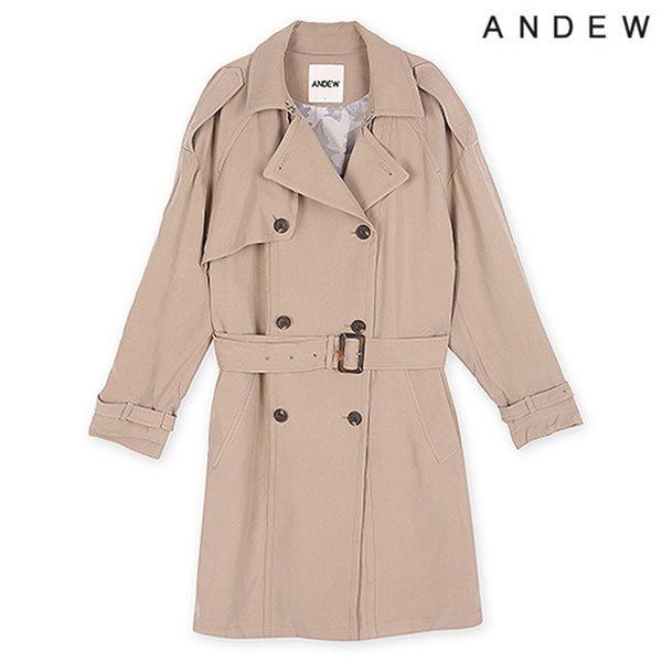 [ANDEW]여성 트렌치 변형 코트 BE(O151CT510M)