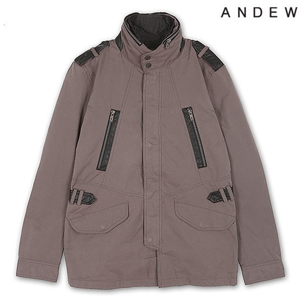 [ANDEW]남성 카라레이어드 야상 점퍼(O151JP120P)