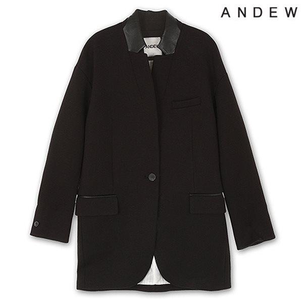 [ANDEW]여성 오버사이즈 네오플랜 자켓 BK(O151JK500M)