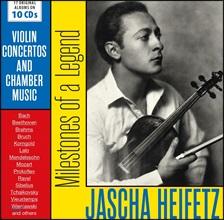 Jascha Heifetz 야샤 하이페츠 - 17 오리지널 앨범 모음 (Milestones of a Legend - 17 Original Albums)