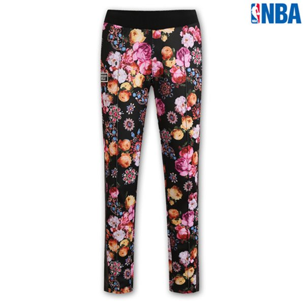 [NBA]CHI BULLS FLOWER패턴 트레이닝 PANTS BK (N143TP751P)