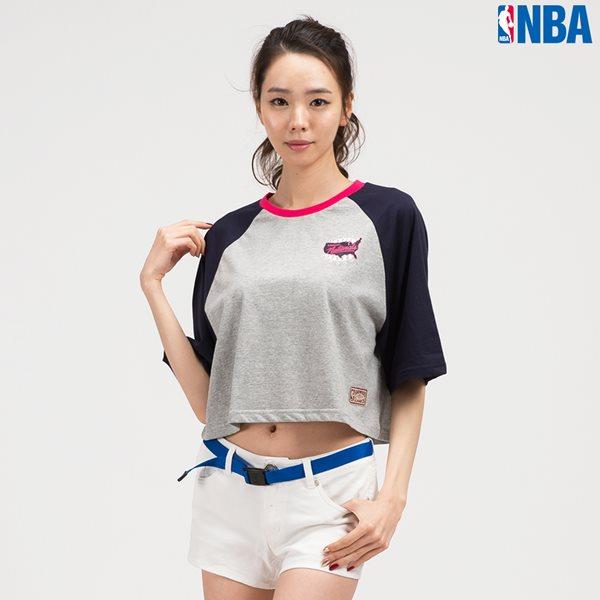 [NBA]PHI 76ERS 배색 라글란 SHORT TS MGR (N142TS720P)
