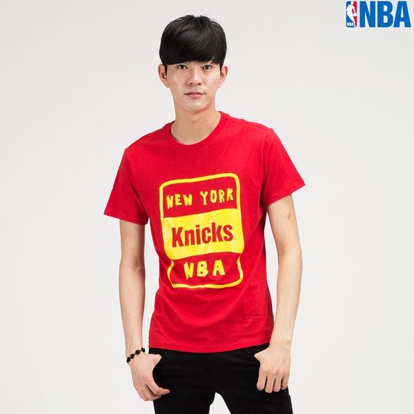 [NBA]NY KNICKS 레터프린트 TS RD (N142TS320P)
