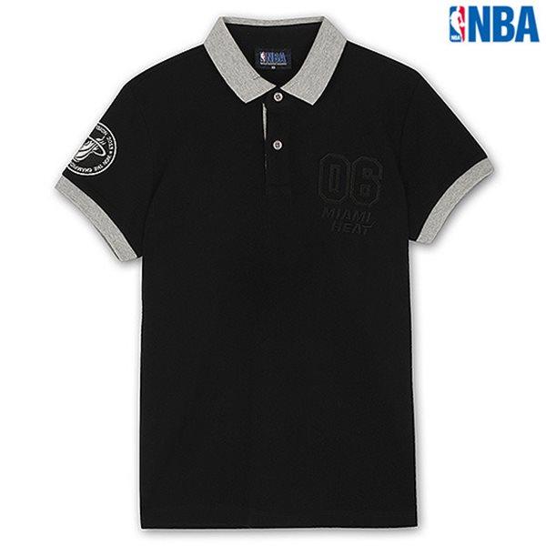 [NBA]MIA HEAT YOKO배색 SHORT PQ BK (N142TS956P)