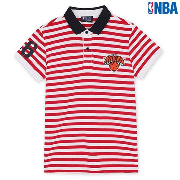 [NBA]NY KNICKS STRIPE SHORT PQ RD (N142TS946P)