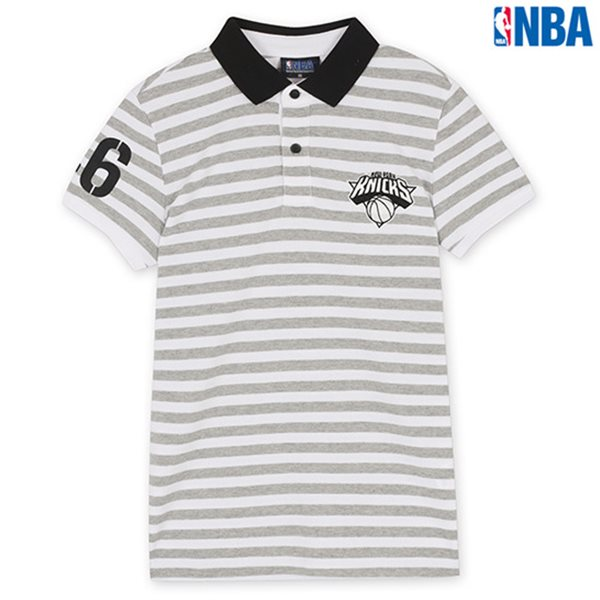 [NBA]NY KNICKS STRIPE SHORT PQ MGR (N142TS946P)