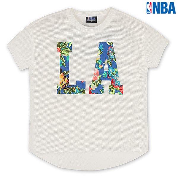 [NBA]LAC CLIPPERS MESH 네오프렌 SHORT TS WT (N142TS734P)