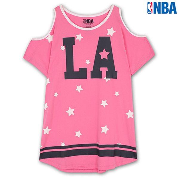 [NBA]LAC CLIPPERS 별PRINT 어깨트임 SHORT TS PK (N142TS712P)