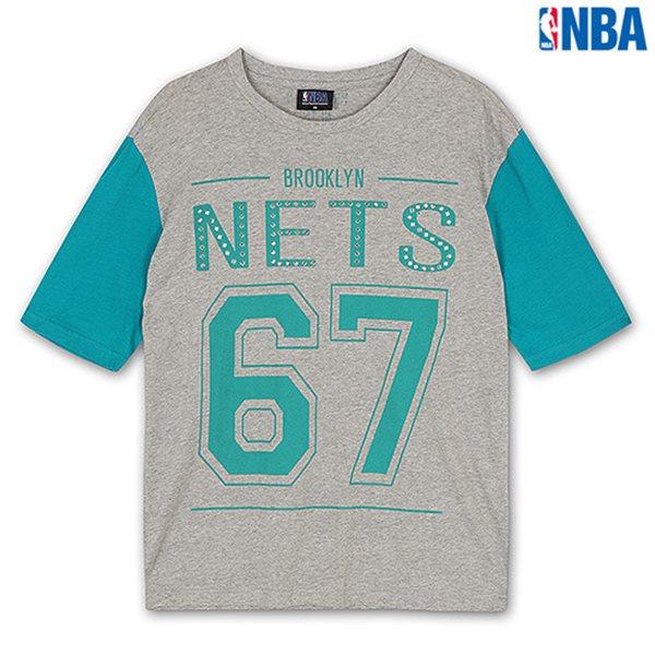 [NBA]BN NETS 숫자PRINT SHORT TS MGR (N142TS711P)