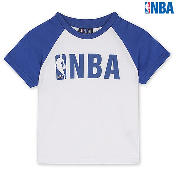 [NBA]NBA KIDS 기획 라글란 반팔 TS BL (N142TS506P)