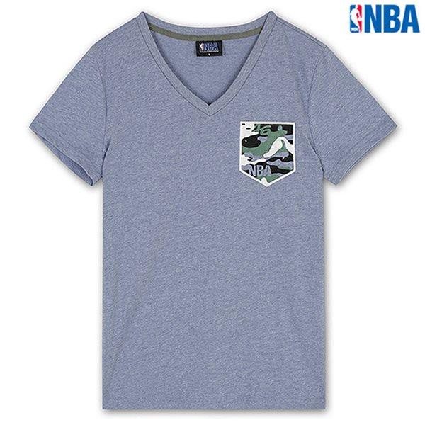 [NBA]NBA CAMO 포켓프린트 TS MBL (N142TS053P)