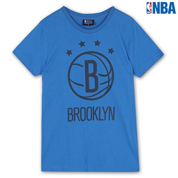 [NBA]BN NETS 별포인트 로고 TS BL (N142TS041P)