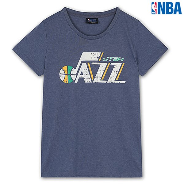 [NBA]UTA JAZZ 빈티지로고 TS MBL (N142TS018P)