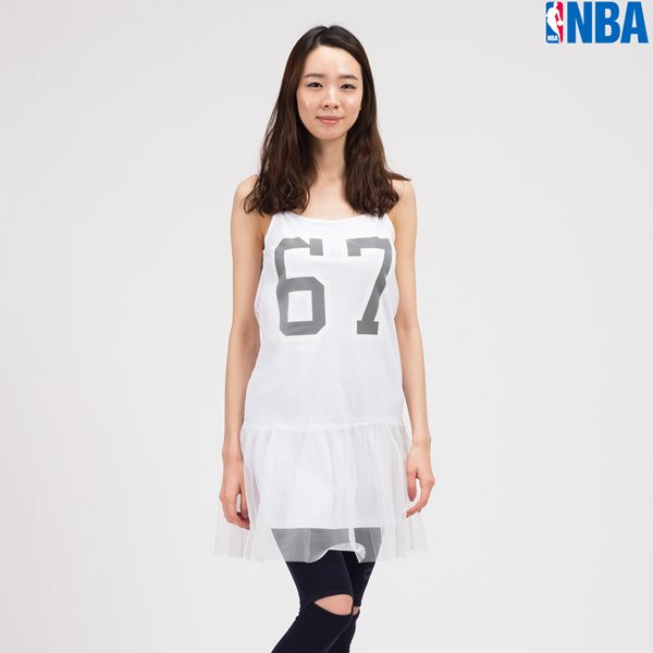 [NBA]BN NETS MESH TOP OPS WT (N142TO715P)