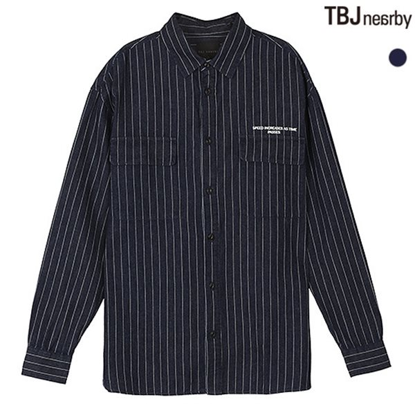 [TBJ]남성 코튼 셔켓형 워크 셔츠(T181SH100P)