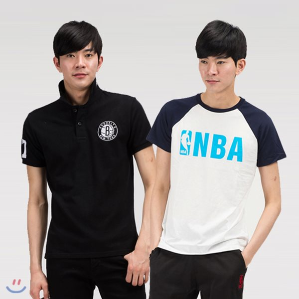 [NBA] NBA 반팔 티셔츠 5종 택1