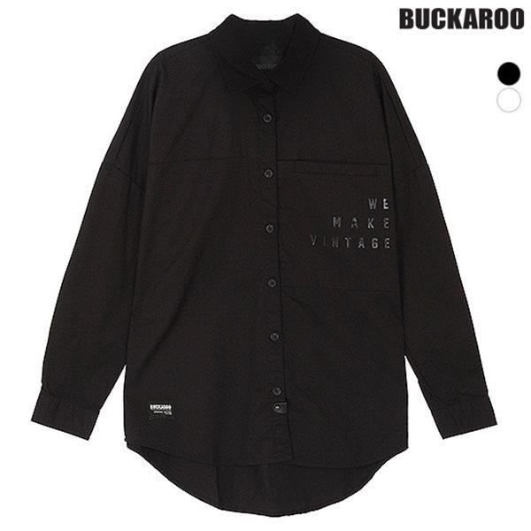 [BUCKAROO]유니 면30수 B&W 셔츠(B153SH030P)