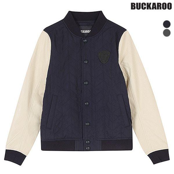 [BUCKAROO]남성 헤링본 퀼팅 패딩 야구JP(B151JP010P)
