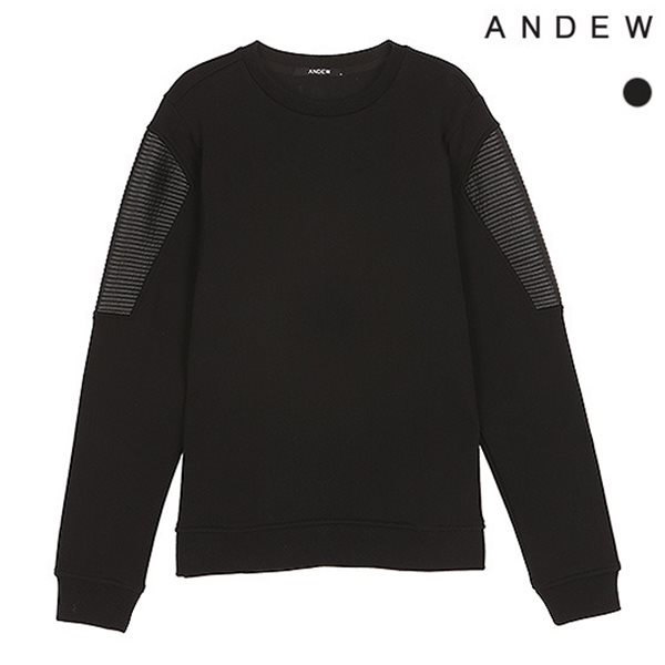 [ANDEW]남성 3단 쮸리 바이커 맨투맨(O153TS104P)