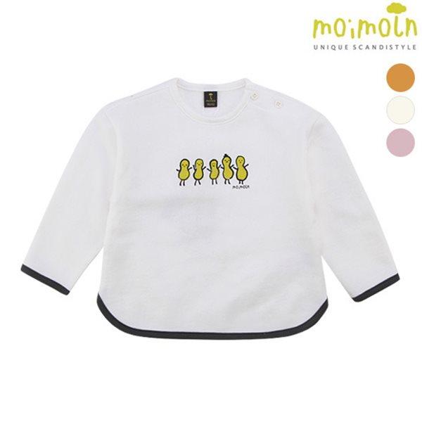 [모이몰른] 클립랍바포인트 티셔츠(간절기/얇은기모) [봄]