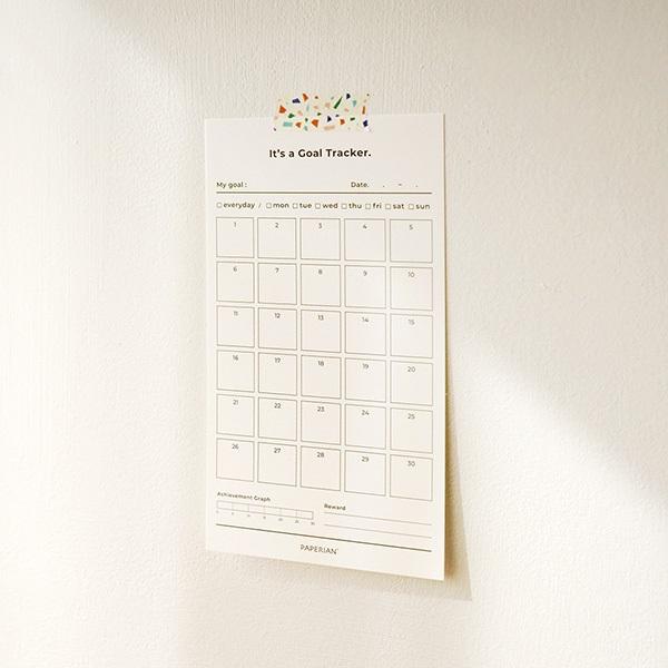 Goal Tracker - 30days