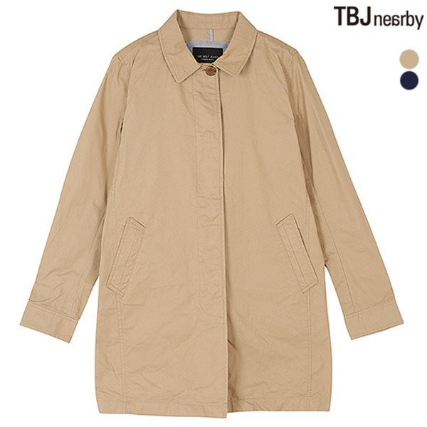 [TBJ]여성 롱기장 싱글 코트(T151JP910P)