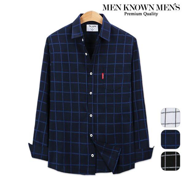 [MKM9]남자 봄 패션 마이트 원도우 체크셔츠